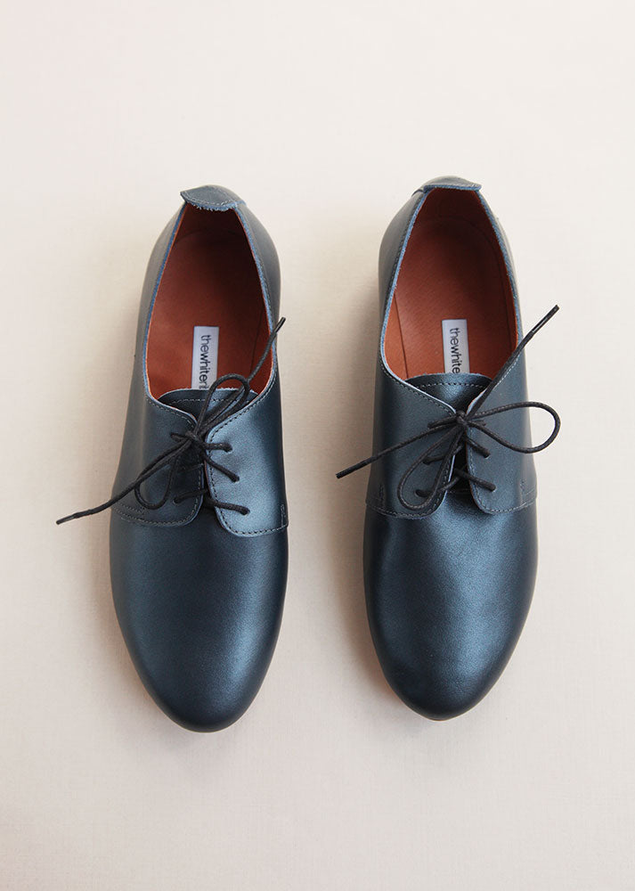 Night Blue Oxford Shoes