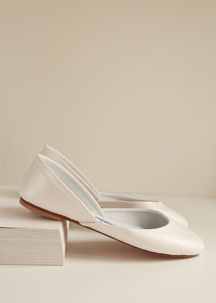 Pearl Ivory Ballet Flats
