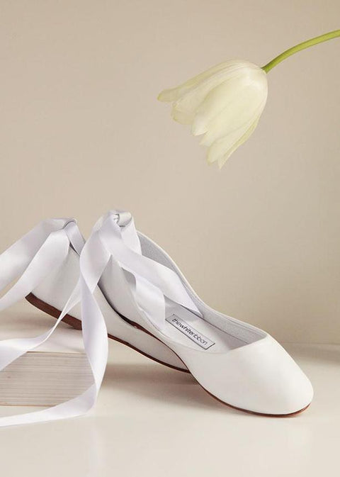 f1cea1ff0a9 Wedding Bridal Ballet Flats and Oxford Leather Shoes – thewhiteribbon