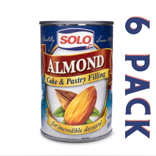 Solo Almond Cake & Pastry Filling - 6 Pack