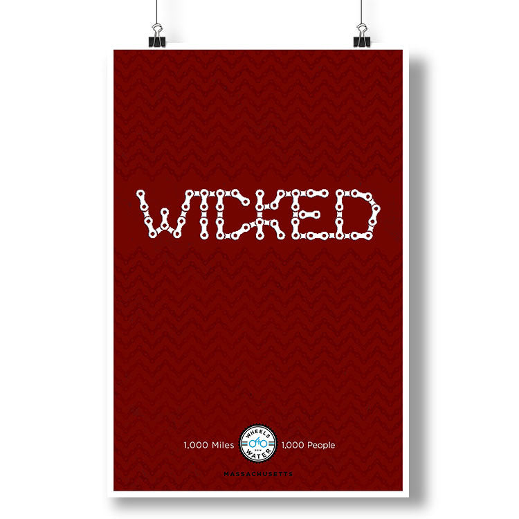 2014 Boston is Wicked Poster