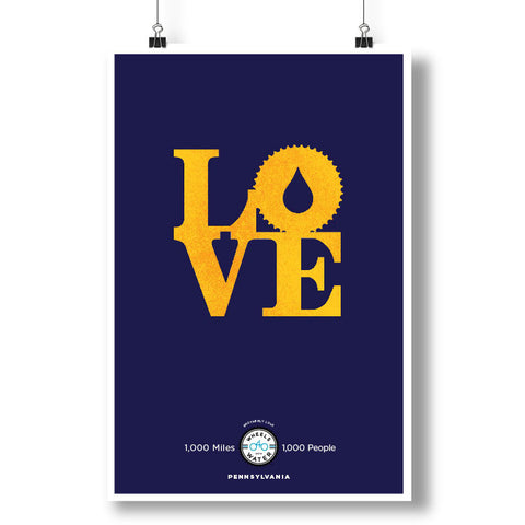 2014 Brotherly Love Pennsylvania Poster