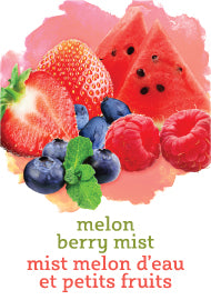 Melon Berry Wine Labels