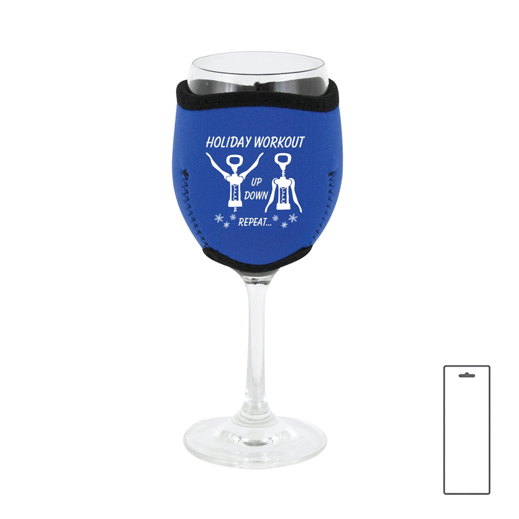 Holiday Wine Glass Sleeves