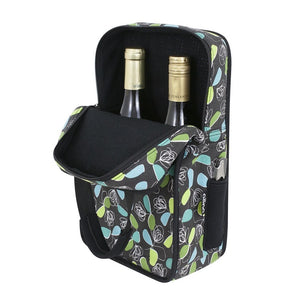 2-Bottle Vinsulator Duo Wine Tote - Whimsy