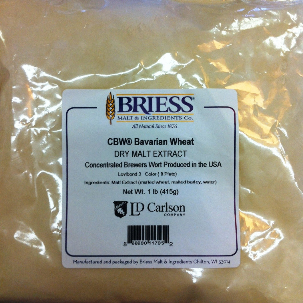 Dry Malt Extract - Bavarian Wheat (Briess) 3 LB