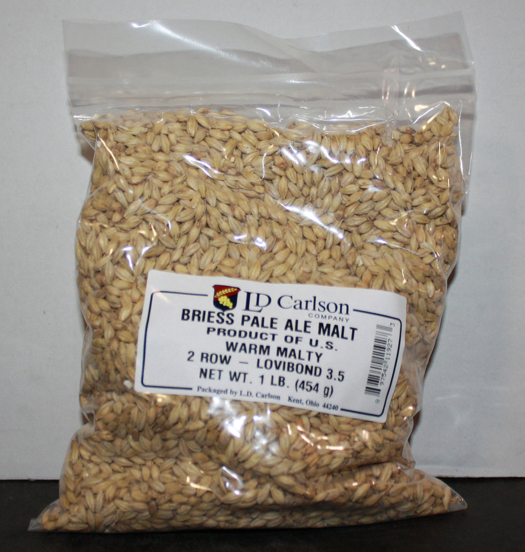 Briess Pale Ale 2-Row Malt - 1 LB
