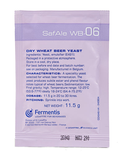 Fermentis Safbrew WB-06 Wheat Beer Yeast