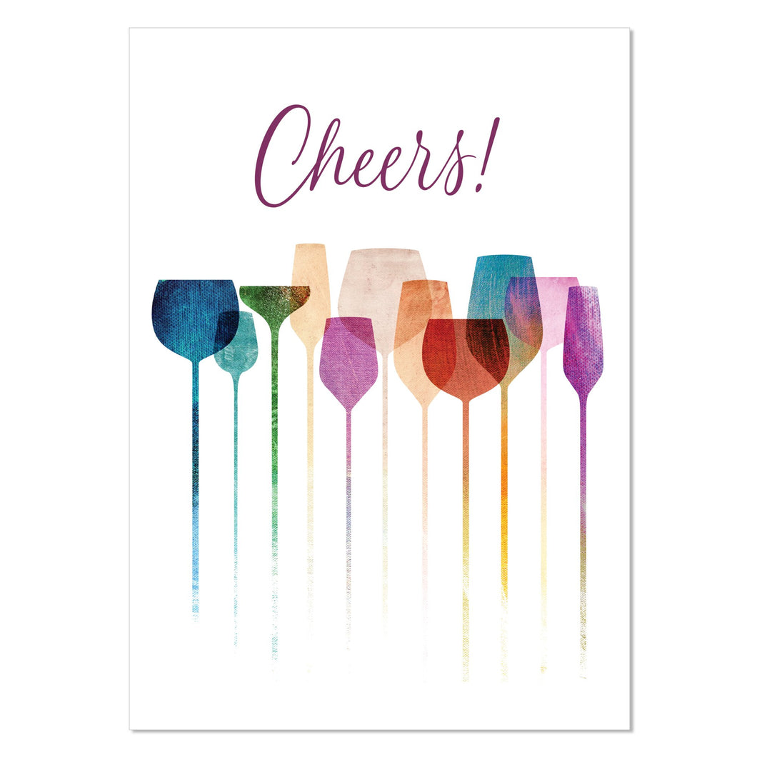 Greeting Card - Cheers!
