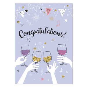 Greeting Card - Congratulations!