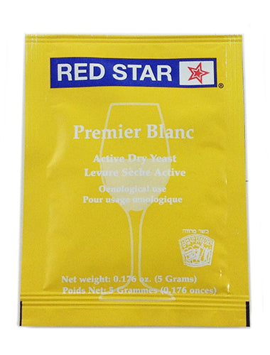 Red Star Premier Blanc (Pasteur Champagne)