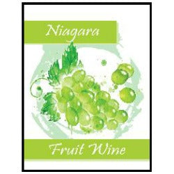 Fruit Wine Labels - Niagara