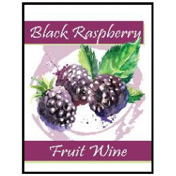 Fruit Wine Labels - Black Raspberry