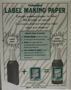 Label-Making Paper (White)