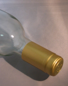 Shrink Caps - Gold Metallic Glossy 30 ct