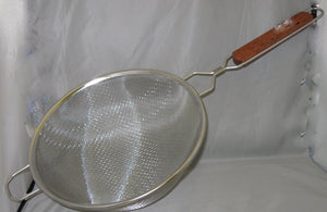 Strainer - Stainless Steel Double Mesh 10""