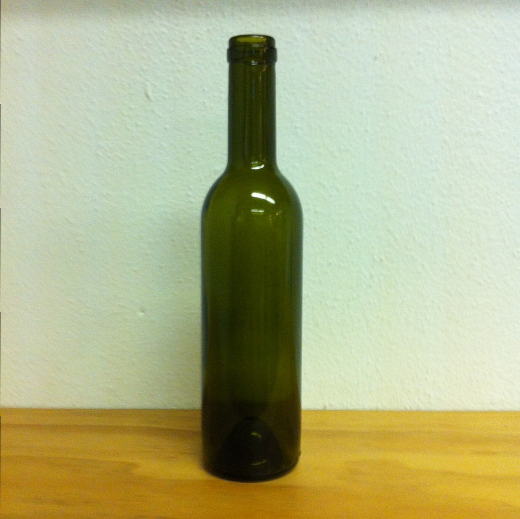 375mL Claret Bottles - Antique Green