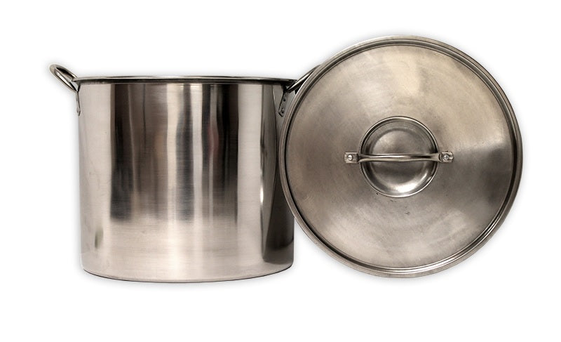 Boil Pot - 20 Qt Stainless Steel Eco-Pot with Lid