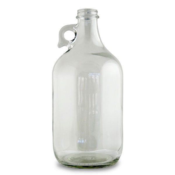 1/2 GALLON CLEAR GLASS JUG