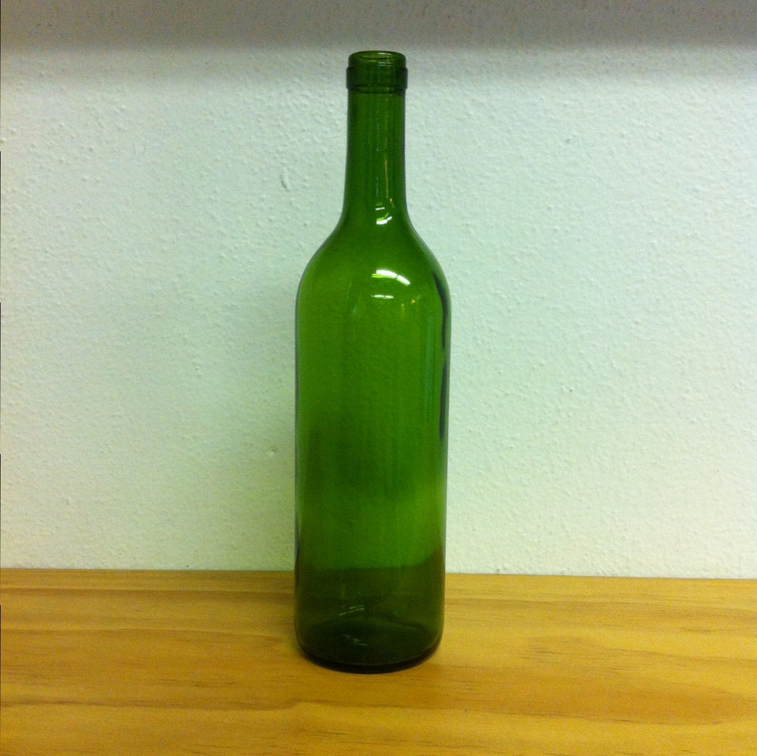 750mL Green Bordeaux Bottles