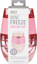 Load image into Gallery viewer, FREEZE™ Wine Cooling Cup - Individual Cups in Translucent Colors