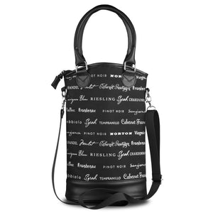 Insulated Designer Wine Tote - Tasting Room
