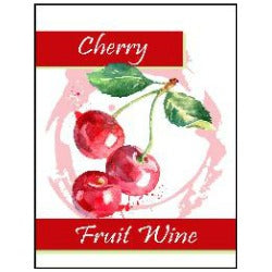 Fruit Wine Labels - Cherry
