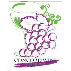 Fruit Wine Labels - Concord