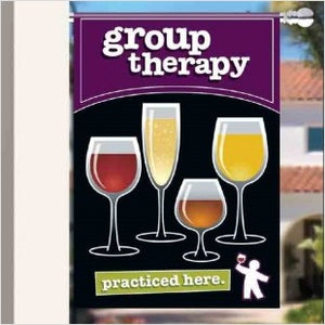 Outdoor Extra Large Flag and Pole - Group Therapy