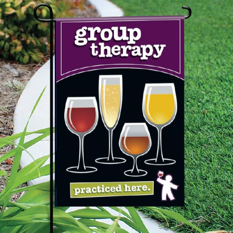 Garden Flag - Group Therapy Black