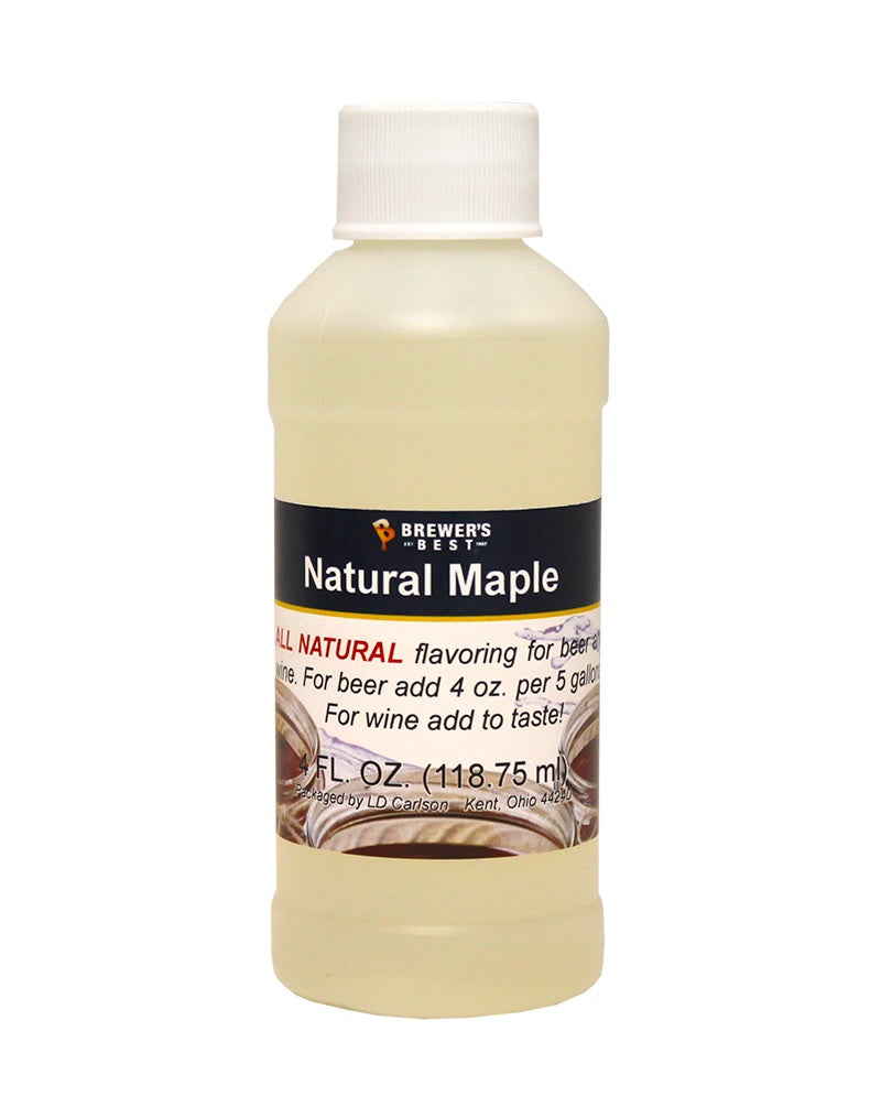 Natural Flavoring - Maple