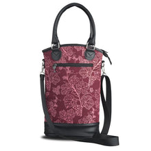 Load image into Gallery viewer, Insulated Designer Wine Tote - Vineyard