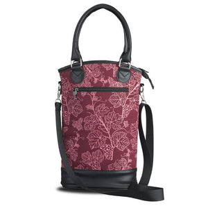 Insulated Designer Wine Tote - Vineyard
