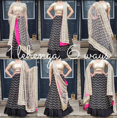 Dupatta Styling Techniques