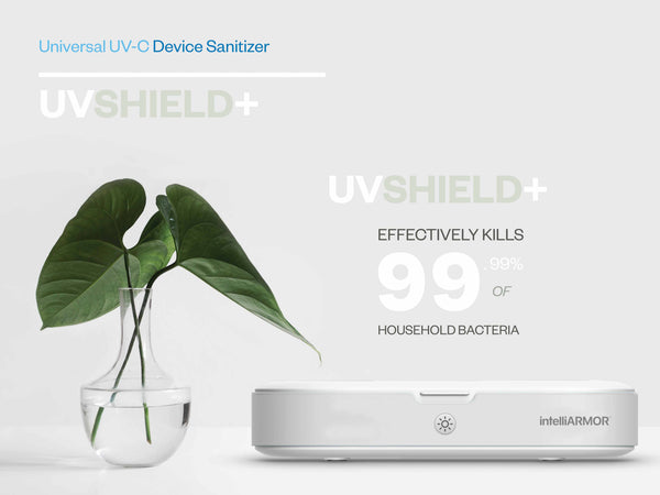Don't Forget to Sanitize your Phone with intelliARMOR UV Shield