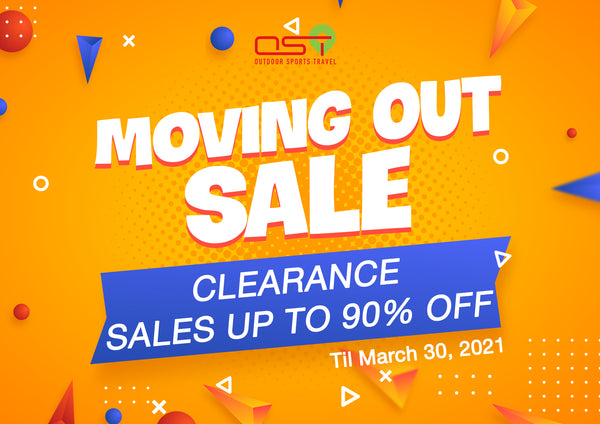OST STORE MOVING OUT SALE