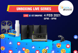 OSTSOME Comex and IT Show Unboxing Series February 2021