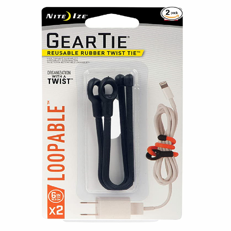 Nite Ize Gear Tie Loopables