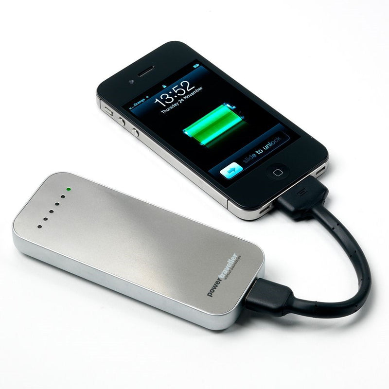 Powertraveller PowerMonkey Discovery Charger with Apple M-Tail