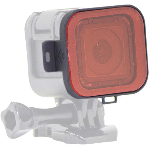 PolarPro Red Snorkel Filter for GoPro HERO4 Session