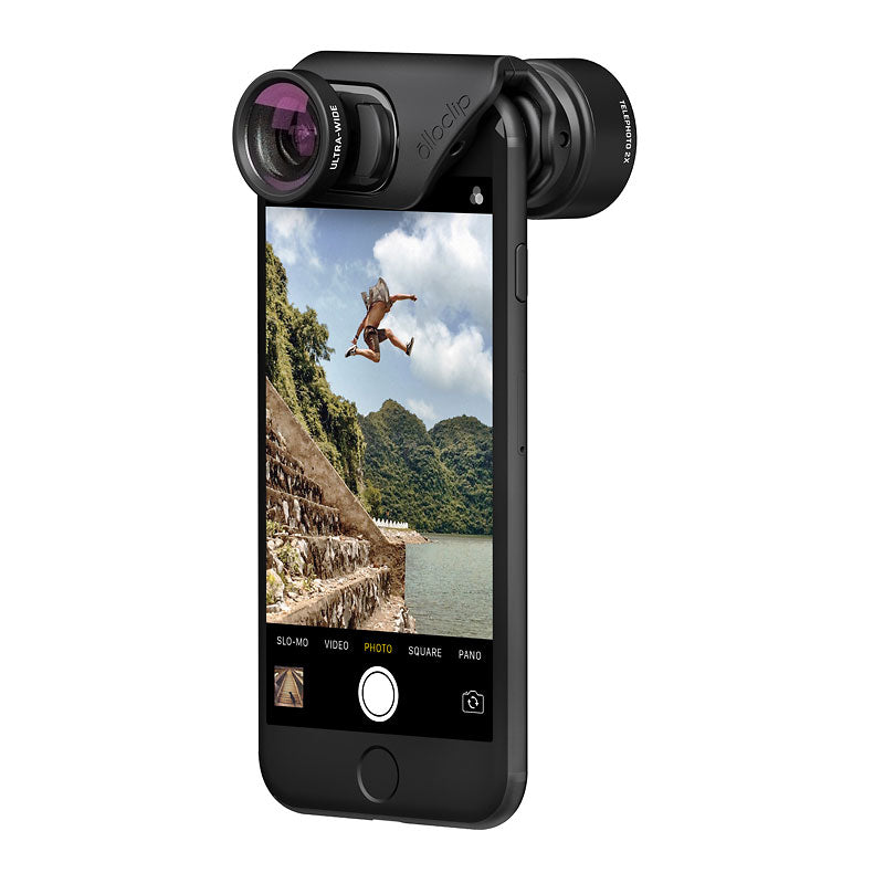 olloclip Active Lens Set for iPhone 7/7+/8/8+ Black
