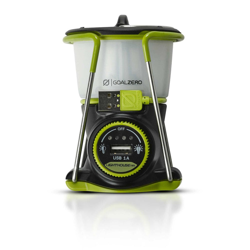Goal Zero Lighthouse Mini Rechargeable Lantern with USB Port