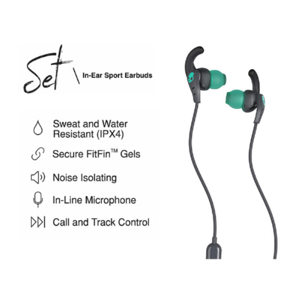 Skullcandy Set In-Ear Sport Earbuds