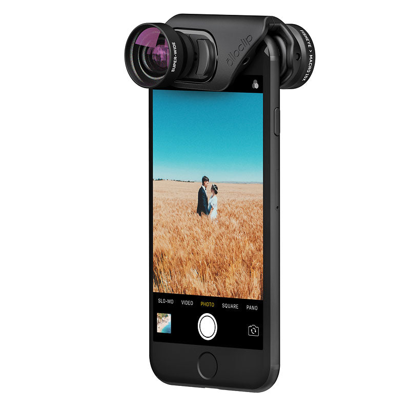 olloclip Core Lens Set for iPhone 7/7+/8/8+ Black