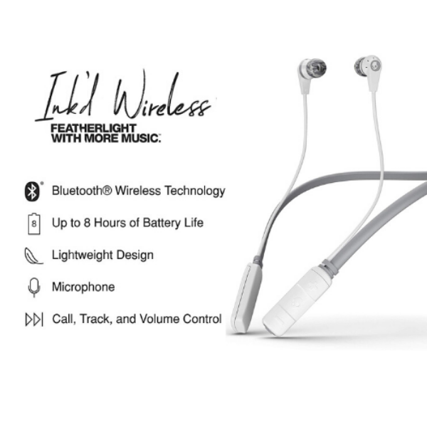 Skullcandy Ink'd 2.0 Wireless Earbuds