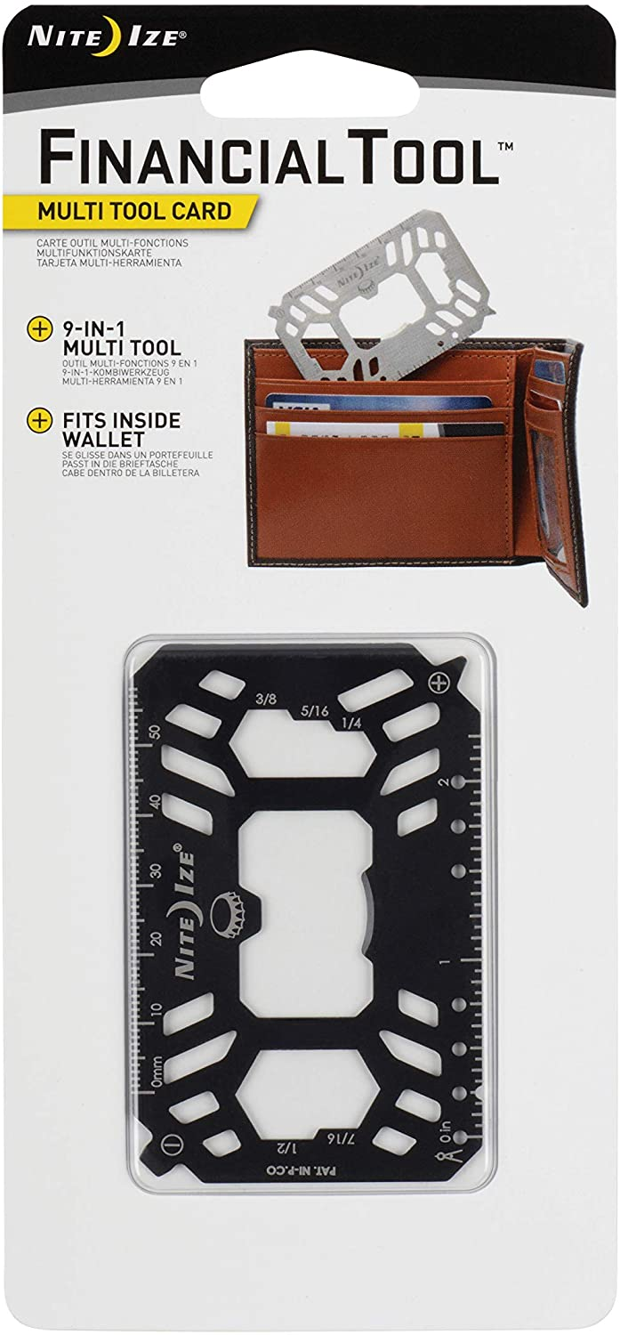 Nite Ize Financial Tool Multi Tool Card