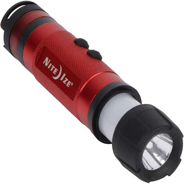 3-in-1 LED Mini Flashlight - Red