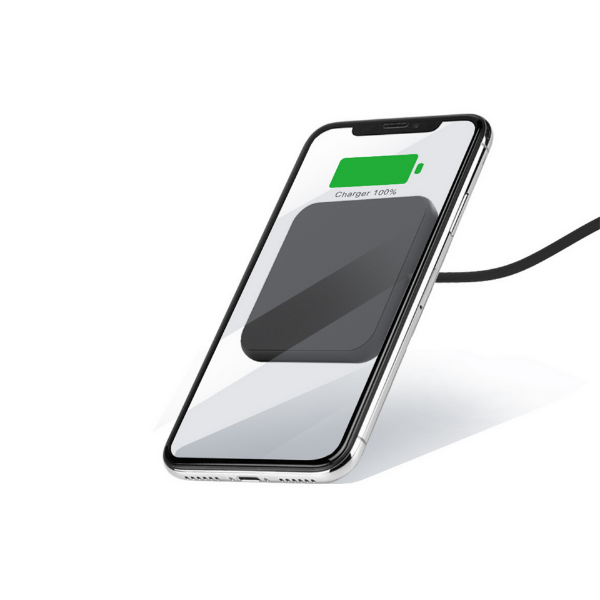 Minibatt Xslim wireless charger with suction system