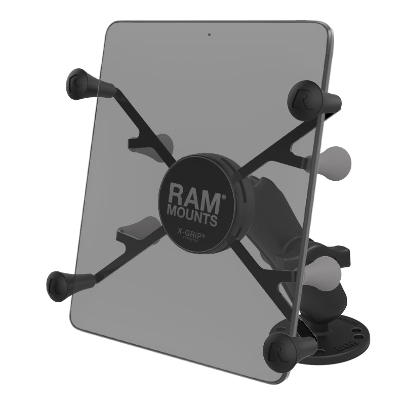 "RAM® X-Grip® Universal Drill-Down Mount for 7""-8"" Tablets"