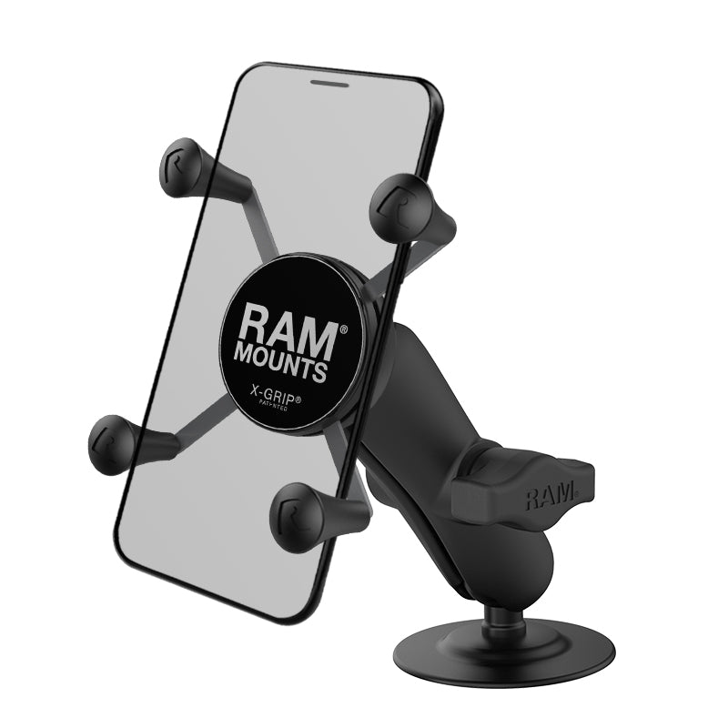 RAM® X-Grip® Phone Mount with Flex Adhesive Base